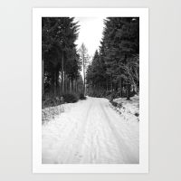 winter landscape prints