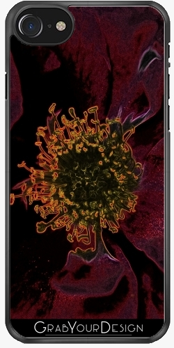GrabYourDesign - Case for Iphone 7/7S Bush Roses Neon - by pASob