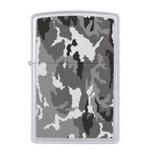 Gray Camouflage... Zippo Lighter